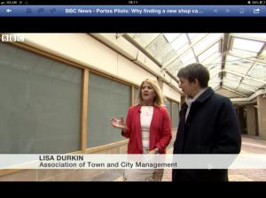 lisa durkin mary portas high street nelson portas pilot bbc news